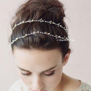 Haarsnoer Haarband Strass Met Parels Ibiza Bohemian Style