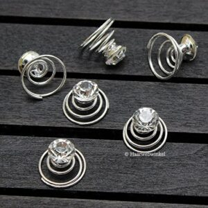 Curlie Strass Steen Clear 8mm 10H0134-08 mm