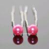 Haarpin Met Parel 8mm Kleur Roze