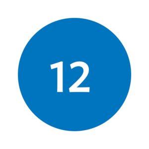 Cosart Eyeliner Oogpotlood Ijsblauw nr. 12 Ice Blue Haarwebwinkel (1)