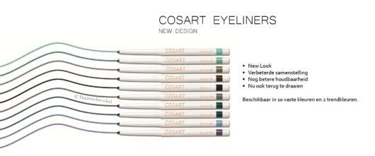 Cosart Eyeliner Zacht Grijs Nr. 16 Soft Grey (2)