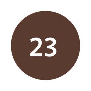Cosart Eyeliner Zachtbruin Nr. 23 Soft Brown Haarwebwinkel (1)
