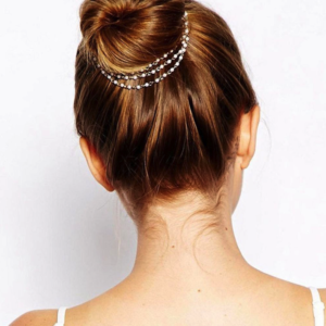 Haarsnoer Haarband Goudkleurig Met 3 Rijen Pareltjes Wit Bohemian Retro Ibiza Style Haarwebwinkel