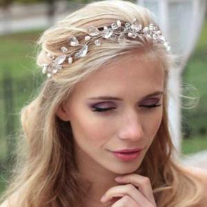 Tiara Haarband Haarsnoer Met Glasparels En Witte Parels Ibiza Style Haarwebwinkel
