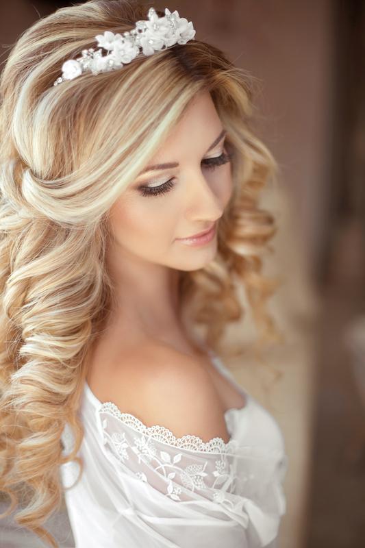 Tiaras diademen bruid Haarwebwinkel