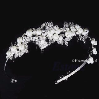 Deze prachtige tiara / diadeem is nieuw in ons 2017 assortiment opgenomen!💕 Te bestellen op www.haarwebwinkel.nl #bruid #bride #bruidsmeisje #bridesmaids #trouwen #trouwerij #huwelijk #weddings #weddinghair #bruiloft #communie #bruidskapsel #bridalhair #haar #haarspeldjes #tiara #diadeem #haarwebwinkel #picoftheday